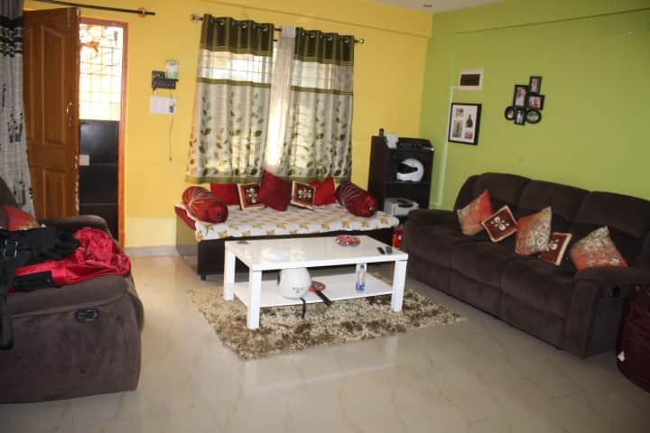 2BHK fully furnished near Wipro sarjapur road