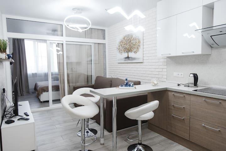 Комфортабельные апартаменты на набережной Дона