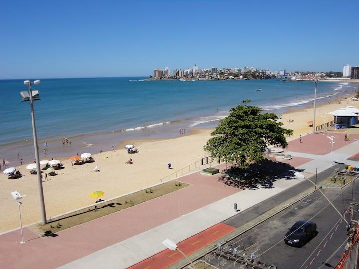 Apto Praia do Morro frente para o mar