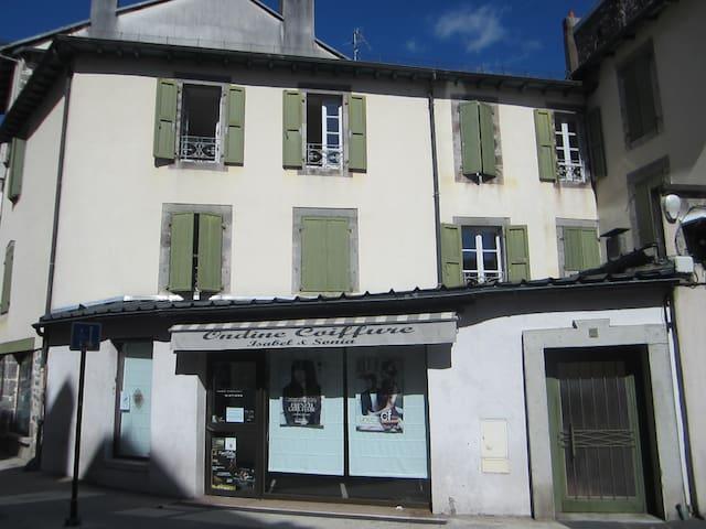 Appartement 40m2 centre historique parking gratuit - Aurillac - Apartament