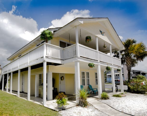 North Myrtle Beach House With Ocean View