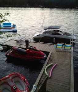 Muskoka Cottage on the Severn River - Coldwater - Casa