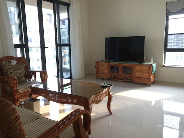 淇舞观海-铜鼓岭生态度假鲁能山海天公寓2厅2卧2卫 - Wenchang Shi - อพาร์ทเมนท์