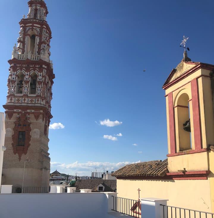 El mirador de San Felipe, el corazón del barroco.