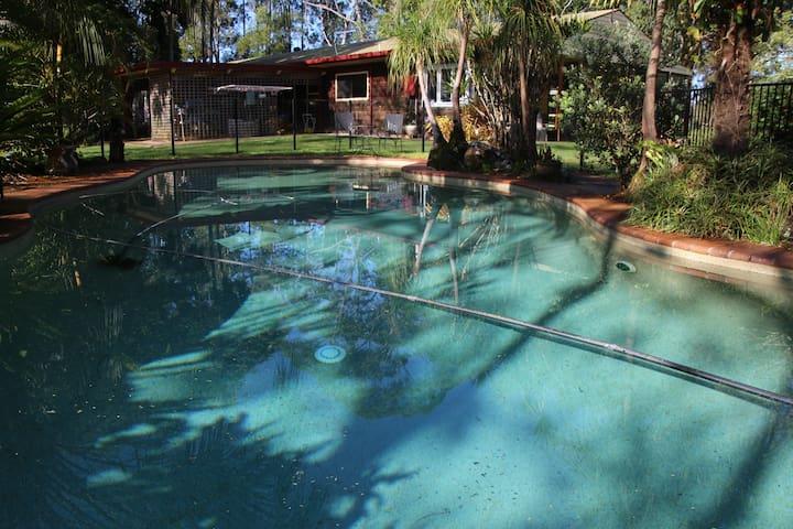 Byron Bay Hinterland House Farmstay - Nashua - Huis