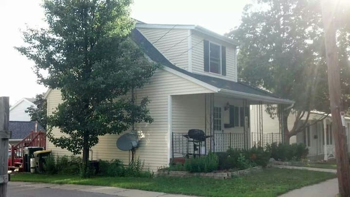 Cute 2-bedroom Cape Cod style home.