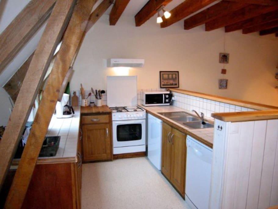 cuisine, lave-vaisselle, micro-onde,frigo...