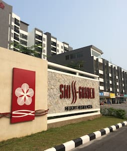 ZA Swiss Garden 2BDR Seaview Apartment - Kuantan - Byt