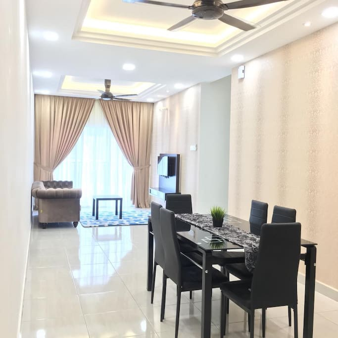 BSP21 Saffea Homestay [1-6pax] serviced apartment - modern design and green landscapes with over 70 facilities