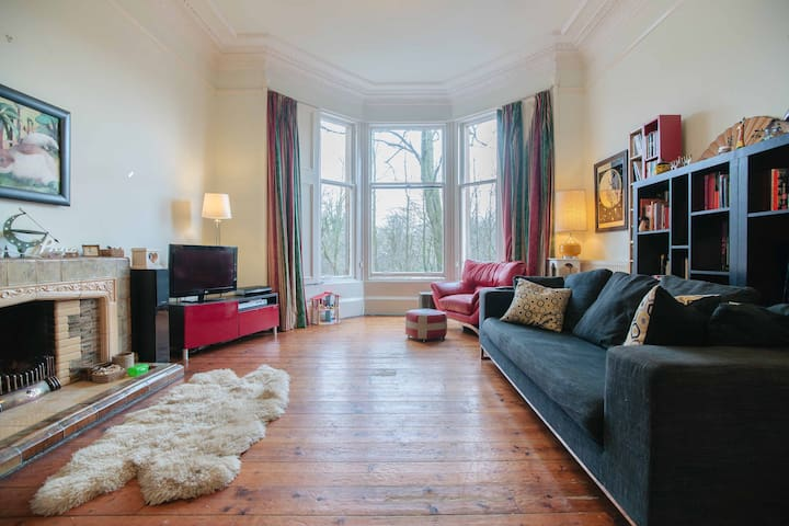 Spacious Flat In Top Spot, West End - Glasgow - Appartement