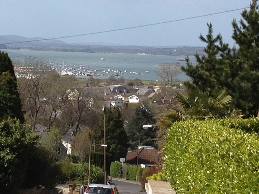 View from all balconies of Poole Harbour