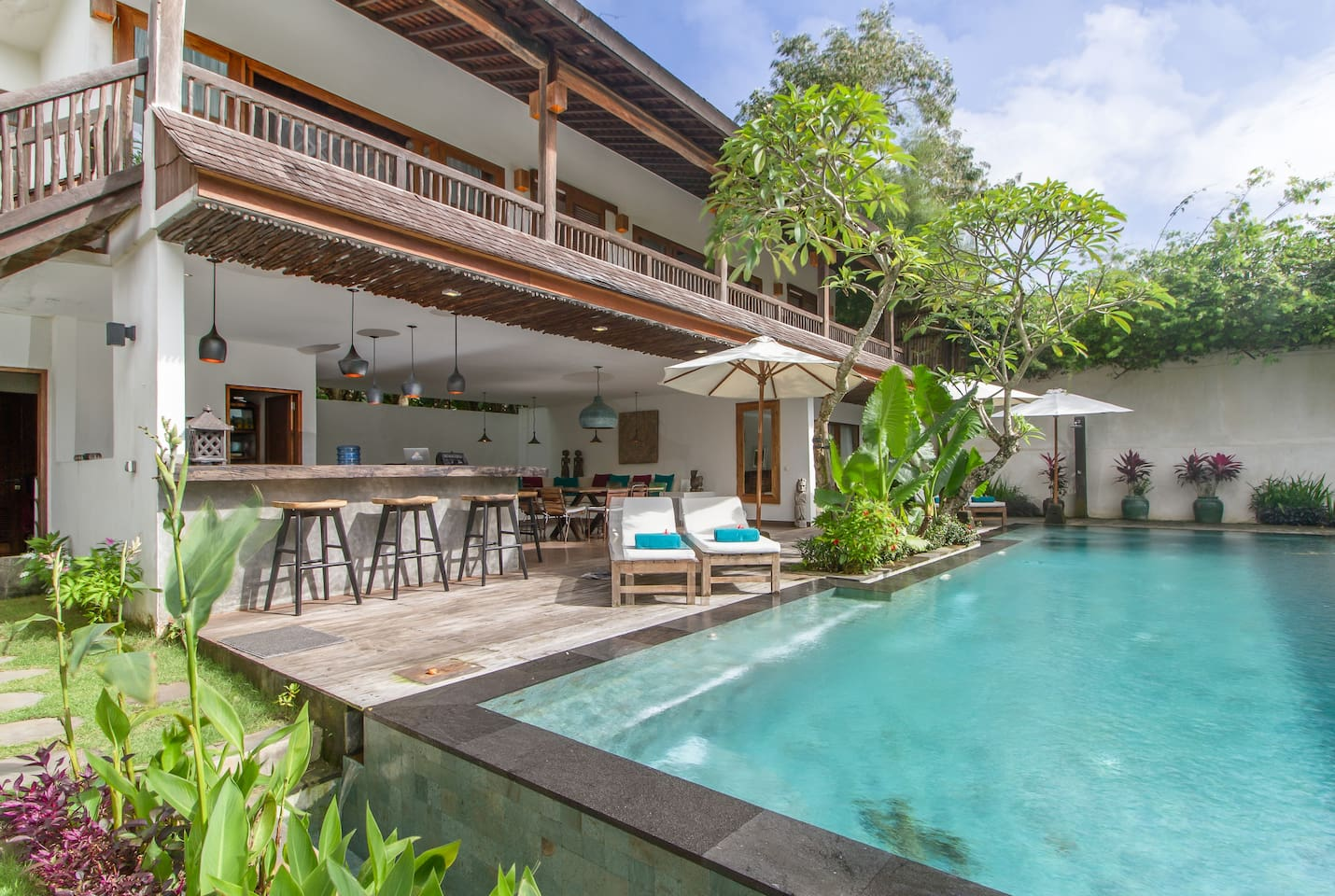 Forest Villa By The Beach Villas For In South Kuta Bali Indonesia