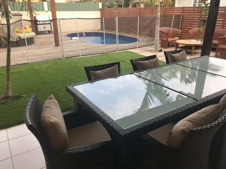Villa pool Normandie, chambre