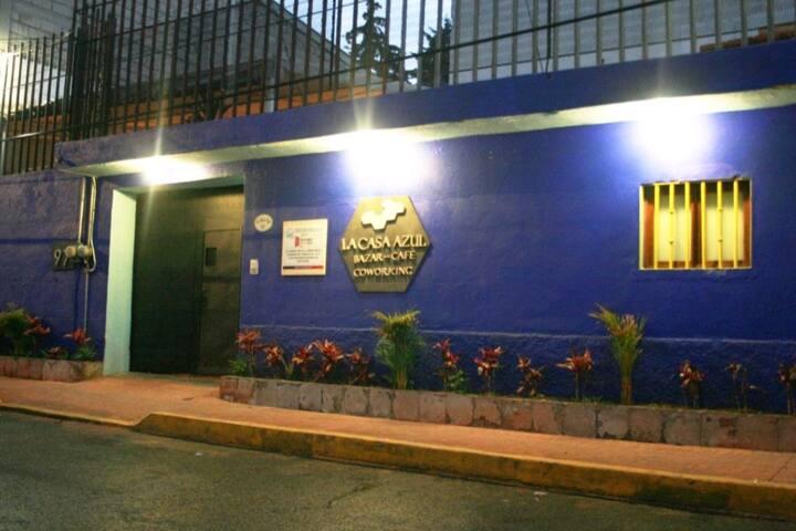 Habitación Maguey Azul en La Casa azul-Sur CDMX