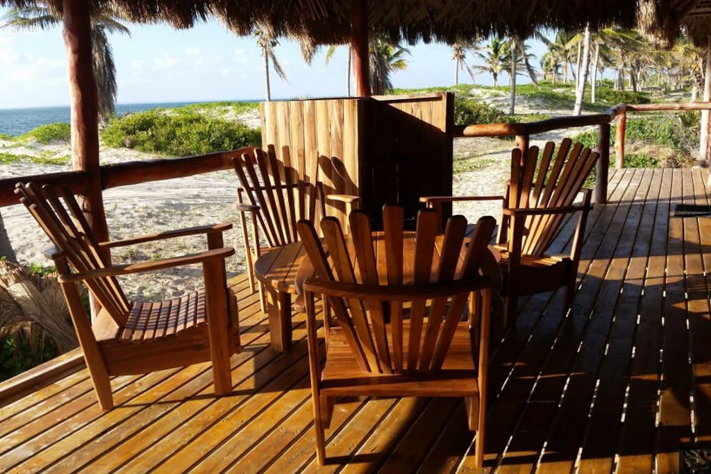 Sun and braai deck