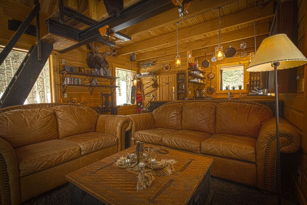 Le cabin at tremblant with spa case in affitto a saint for Cabine in affitto a victoria bc