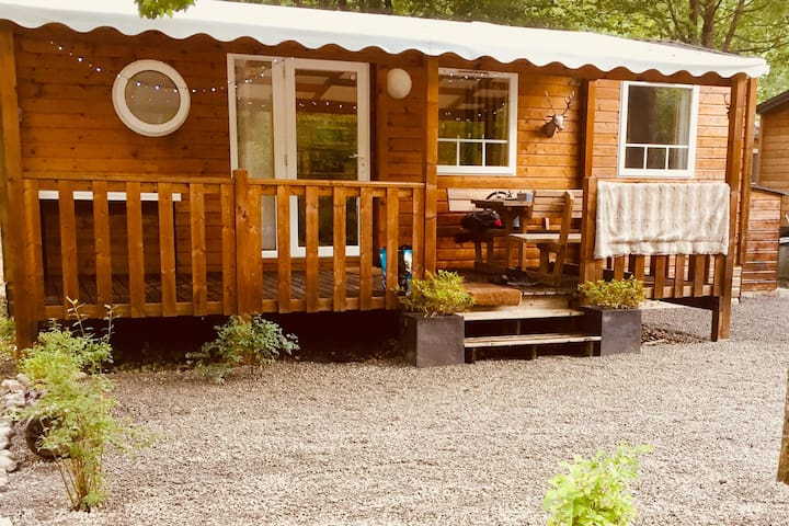 Cabin Jolie 264 by Lac du Passy. Tranquil setting