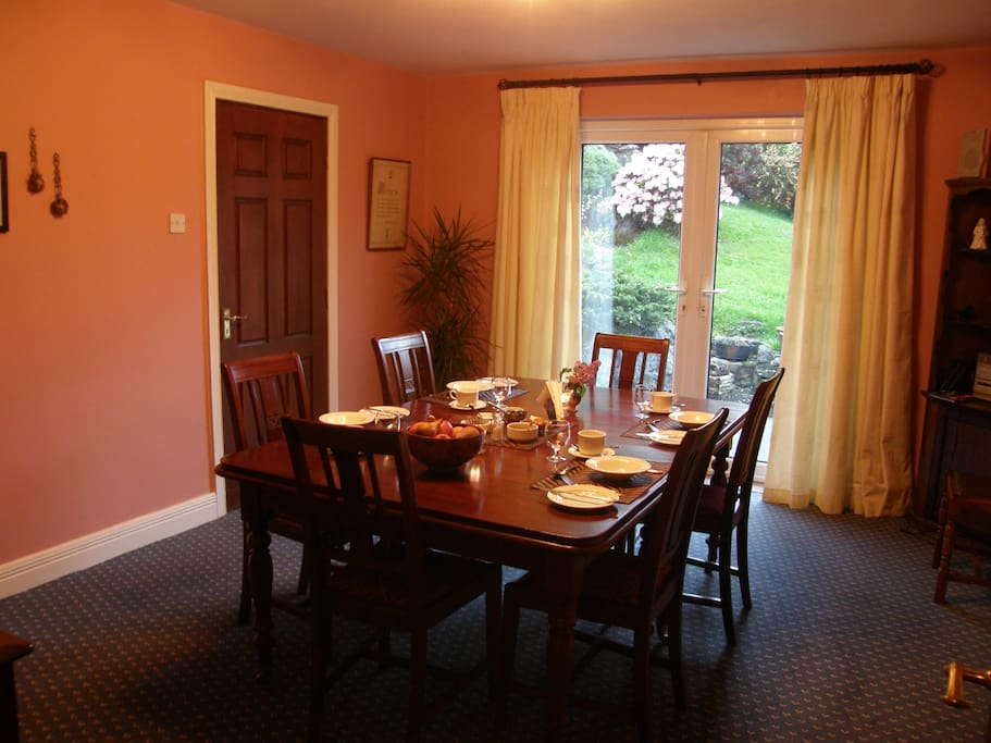 Breakfast room. Choice of Breakfasts available to suit you.