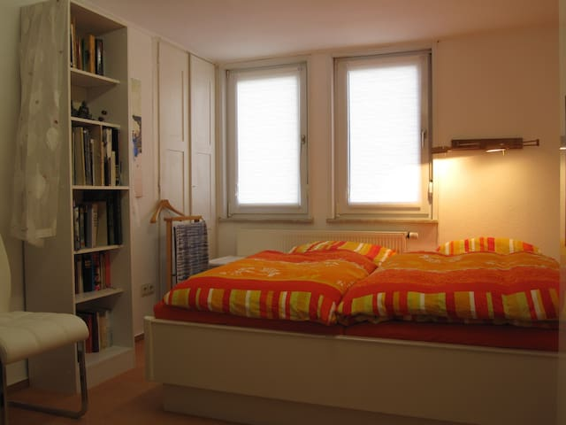 Beautiful room in Frankfurt, 11 minutes to fair! - Frankfurt - Casa