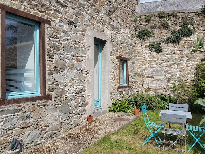 Appartement avec petit jardin vieux Tréguier