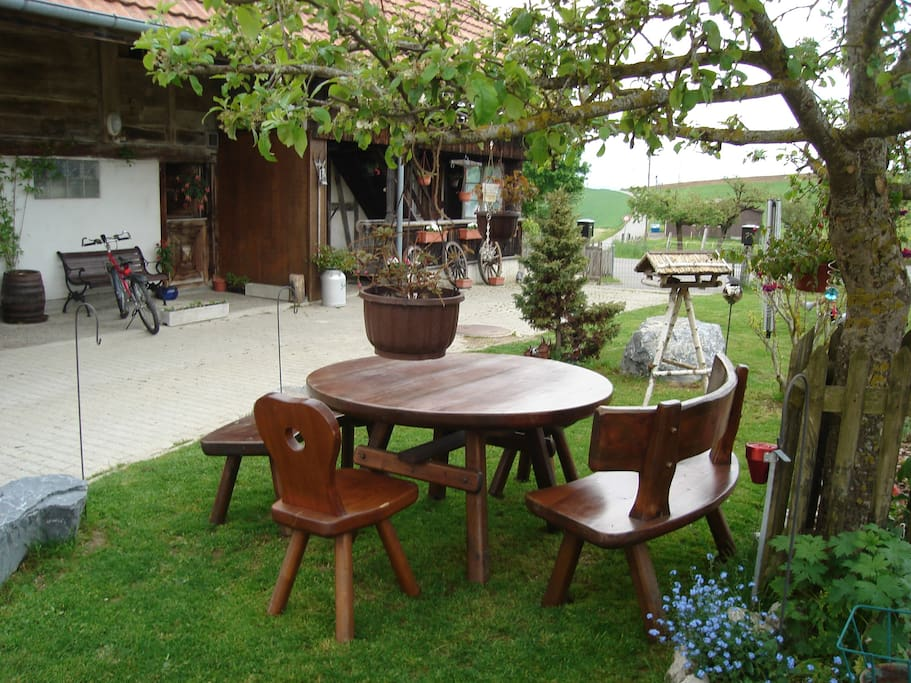 Outside Place in the garden.....