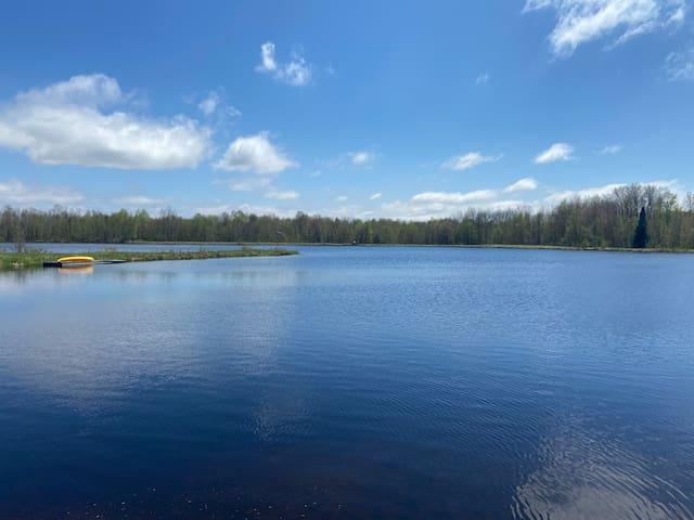 Cozy cabin on the private Dream Lake!