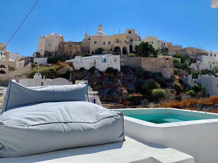 Timedrops Santorini Kallisti villa Courtyard Suite
