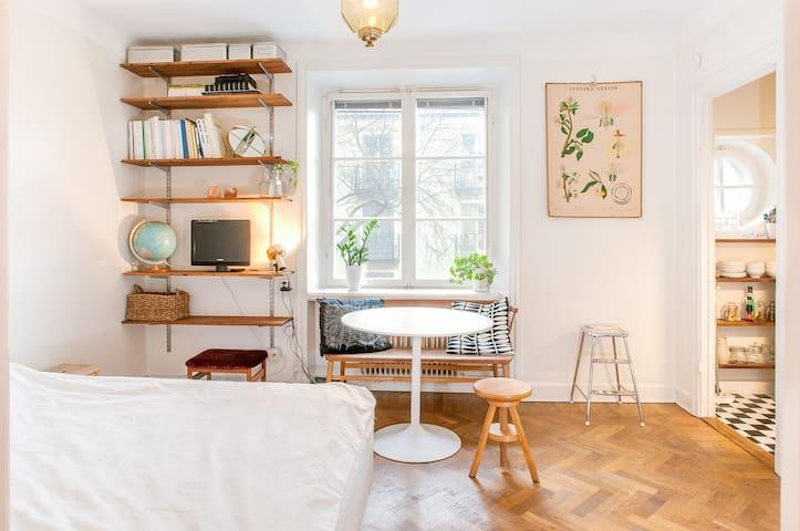 Bright Mini studio in Hornstull - Stockholm - Leilighet