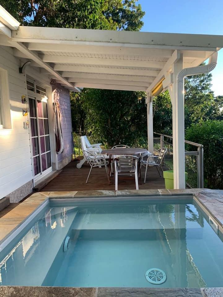 Bienvenue à la villa Léana, l'endroit est paisible