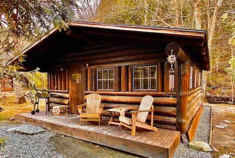 "Rustic Log Cabin #2 - ""Peaceful Oasis"""
