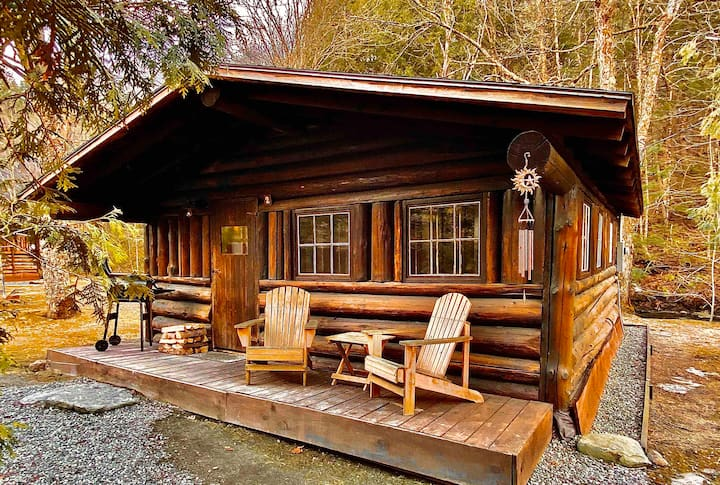 "Rustic Log Cabin #2 - ""Peaceful Oasis"""