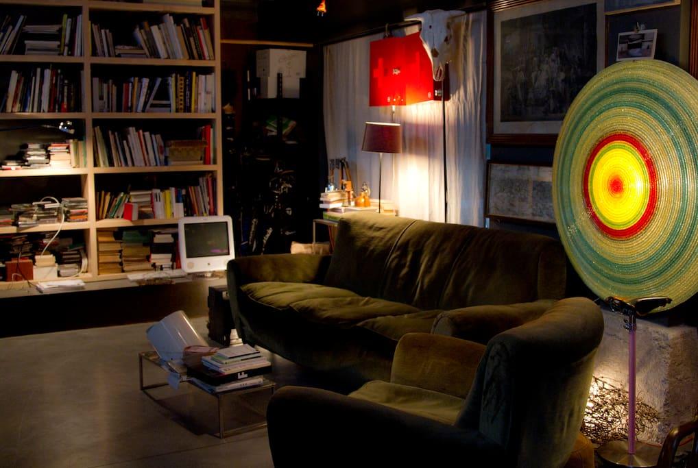 open living room, ground floor