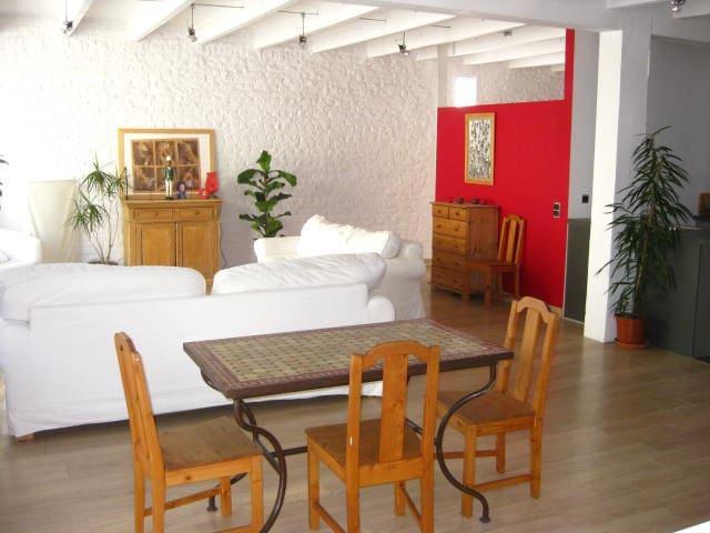 1 petite chambre dans loft - Jette - Loft