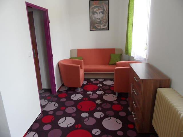 Pěkný 2-lůžkový pokoj v Penzionu Záložna