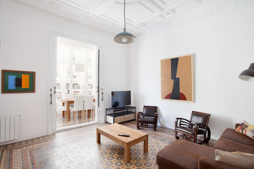 Gran via de luxe suite 5 appartements avec services - Appartement luxe mexicain au plancher bien original ...