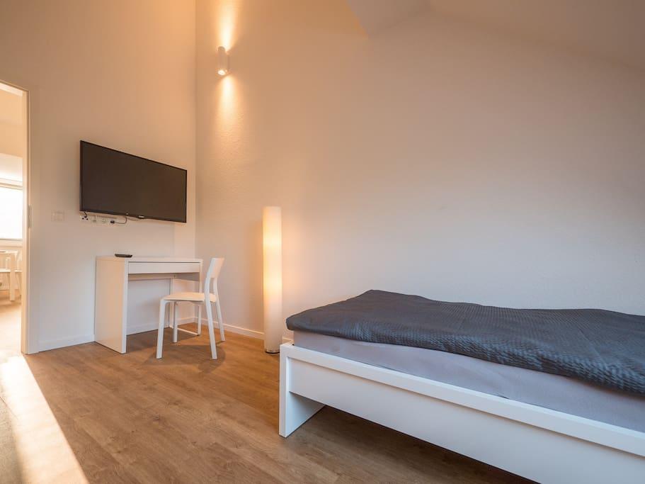 1 Doppelzimmer in der großen Wohnung