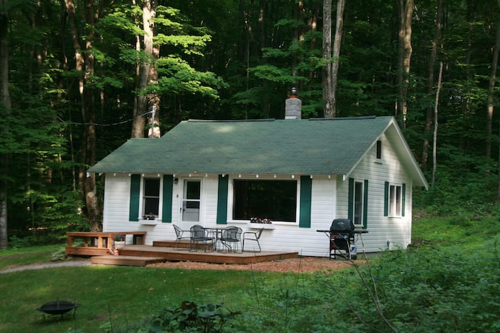 Quiet, Up North Cabin Across from Big Glen Lake