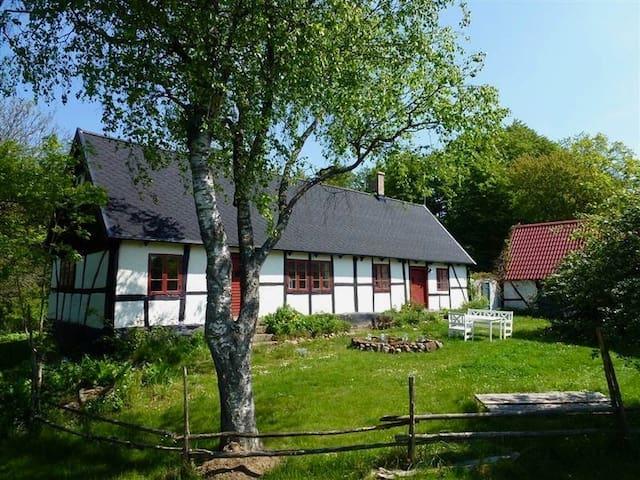 Hus från 1850 talet med vedeldad bastu, Österlen. - Tomelilla Ö - Casa