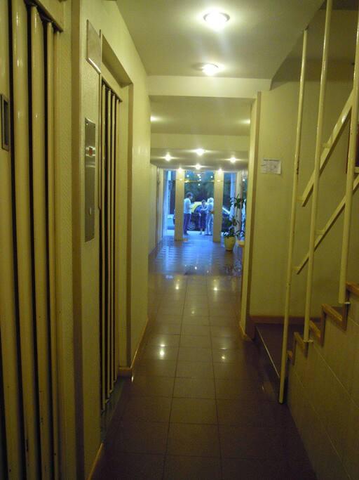 Elevators. Hall