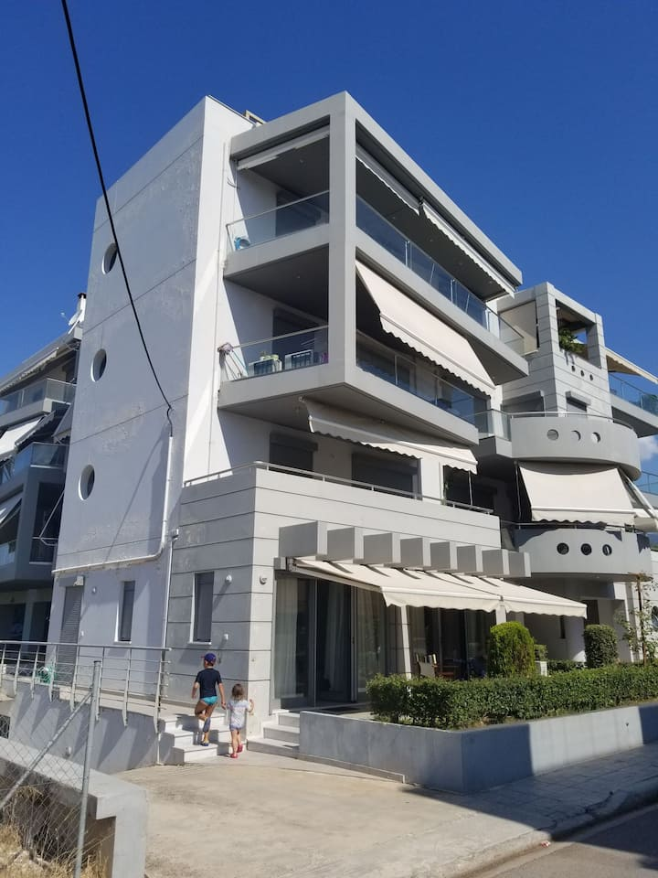 Modern 2 bedroom condo by the sea