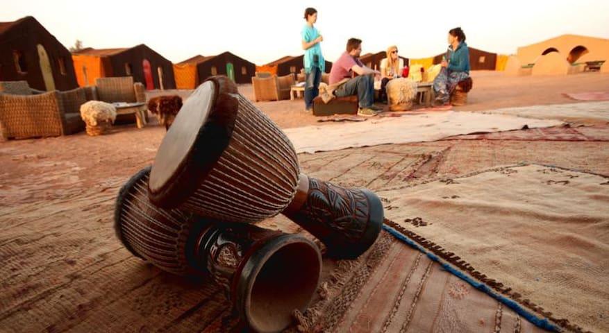 Voyage Camp Desert Morocco