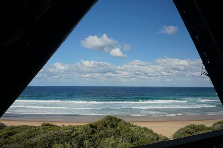 Superb beach & surf location! On sand & with staff