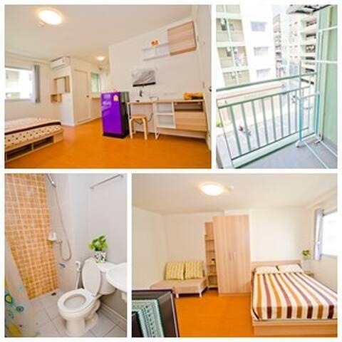 ห้องพักอันอบอุ่น Lumpini  Chonburi - Bang Pla Soi - Apartment