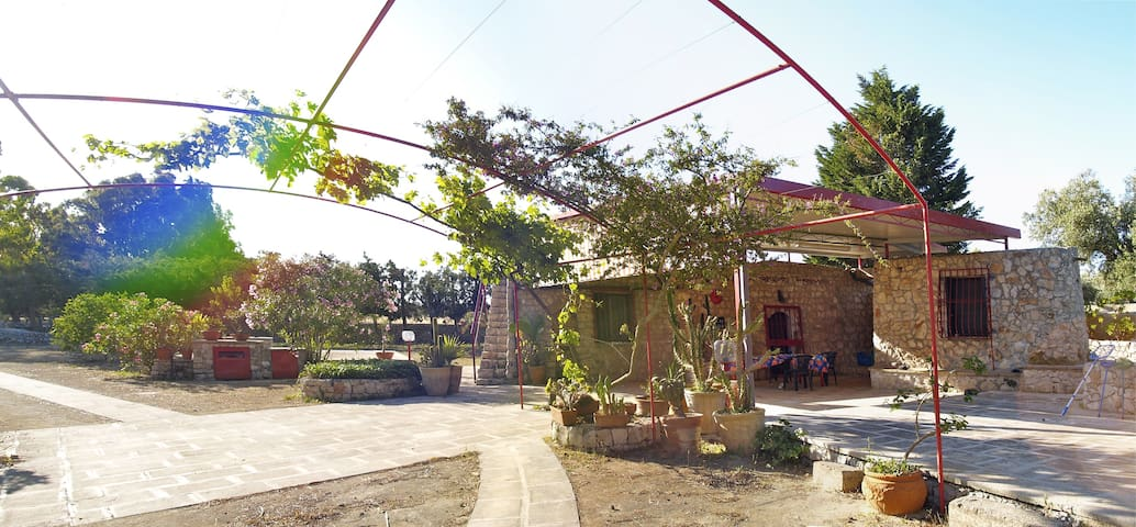 Villa in pietra con piscina Maldive del Salento - Pesculuse