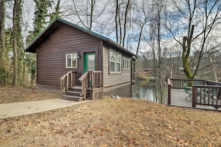 Cozy Heber Springs Cabin w/ Deck & Dock!