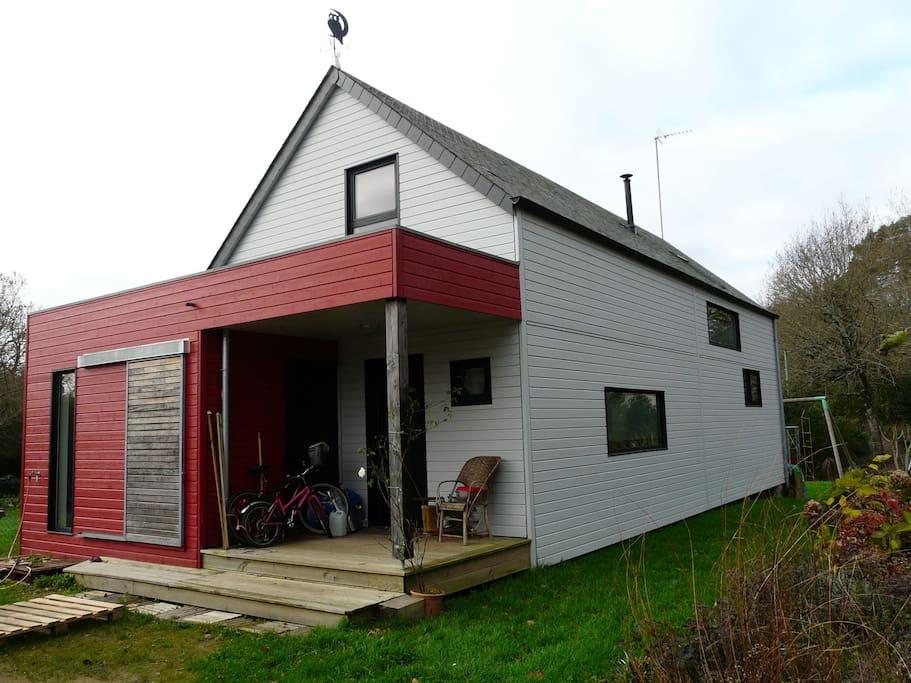 Maison en bois sud Bretagne  Houses for Rent in Crach, Brittany  ~ Maison En Bois Bretagne