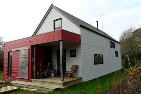 Maison en bois sud Bretagne - Crac'h