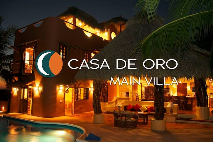 2 Bedroom Beachfront Villa in Troncones, Mexico