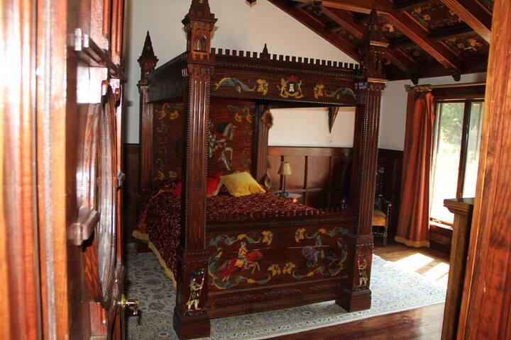 Sleep Like Royalty in a Castle!