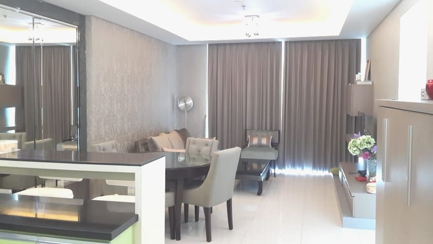 Ciputra world luxury apartment
